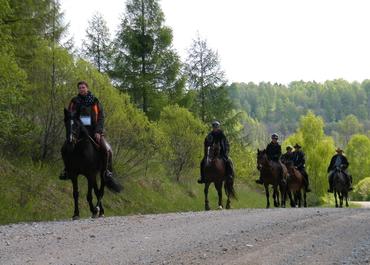 6 dienų žygis žirgais Kurtuvėnai-Palanga