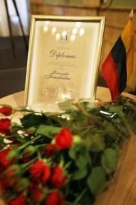 Kurtuvėnų regioninio parko direktoriui Rimvydui Tamulaičiui įteikta Pelikso Bugailiškio premija