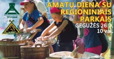 Amatų diena su regioniniais parkais
