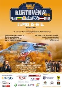 Rally Sprint Kurtuvėnai 2016