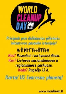 World Cleanup Day Kurtuvėnų regioniniame parke