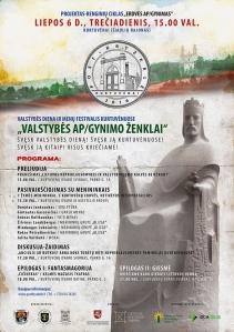POST Kryžkelė: valstybės diena ir menų festivalis Kurtuvėnuose