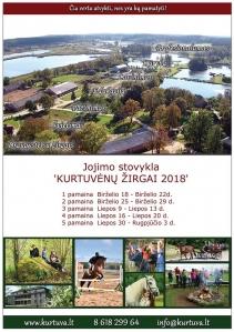 """Pradėta registracija į jojimo stovyklą ,,Kurtuvėnų žirgai 2018"""""""