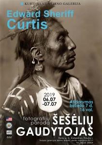 """Edward S. Curtis  """"Šešėlių gaudytojas"""" fotografijos parodos atidarymas"""