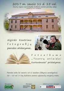 """Kviečiame į Algirdo Kontrimo fotografijų parodą ,,Teatrų atlaidai Kurtuvėnuose"""""""