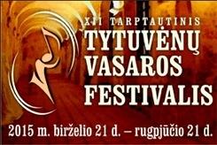 Tytuvėnų vasaros muzikos festivalio koncertas Kurtuvėnuose 2015-08-16